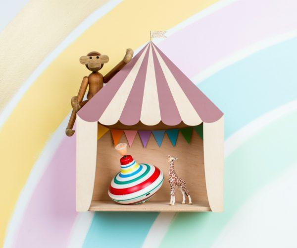 dusty pink circus shelf 01