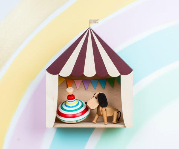 burgundy circus shelf 01