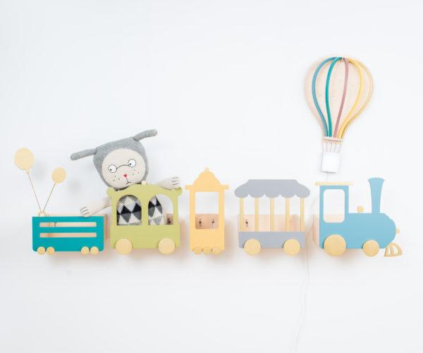 boho dusty grey circus train 01