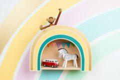 """rainbow shelf """"dreamy"""""""