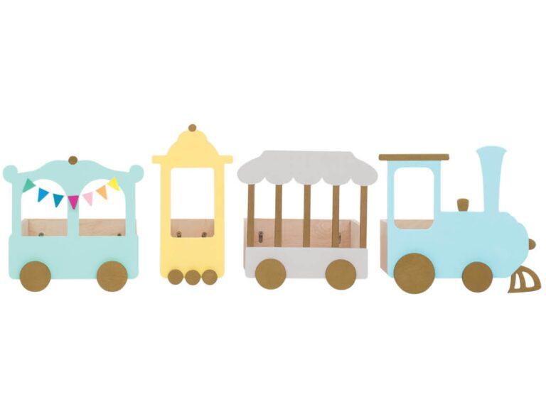train shelf for kids Zugregal fuer Kinder