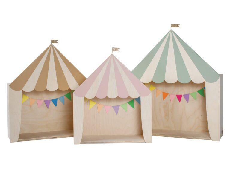circus set kids room shelf Kinderzimmer