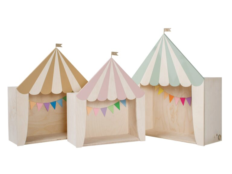 circus set for kidsroom Kinderzimmer Zirkusregal